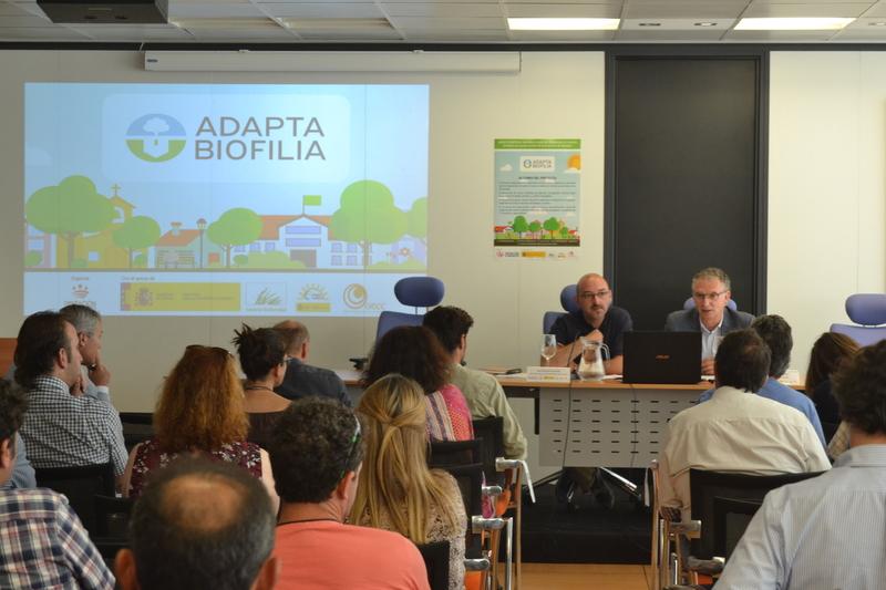 Jornada sobre infraestructuras verdes municipales y cambio climático