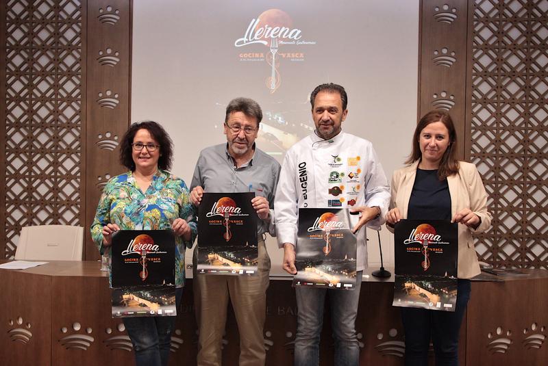 La cocina vasca, protagonista de 'Llerena Monumento Gastronómico' 2019
