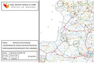Aprobado el proyecto para la instalación de puntos de recarga eléctrica y marquesinas solares en varios municipios