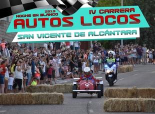 Abierto el plazo de Inscripción para la IV Carrera de 'Autos Locos' de San Vicente de Alcántara