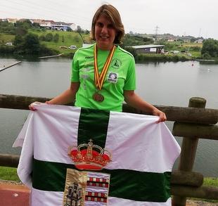 Dos de oros para Elena Ayuso en el Campeonato de España de Avilés