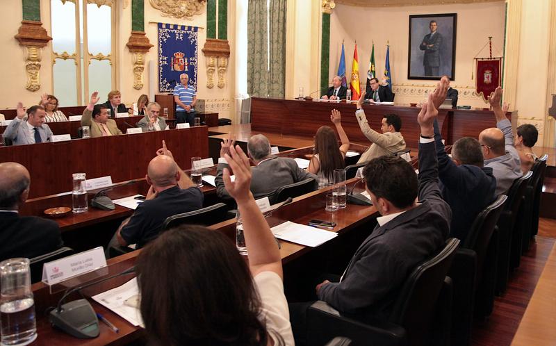 Constituidos los grupos políticos de la Corporación Provincial para la presente legislatura