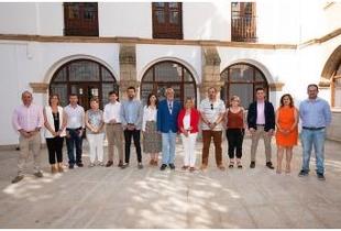 """La Presidenta presenta la estructura de la Diputación con nuevas áreas como """"Transición Ecológica"""" o """"Reto Demográfico"""""""