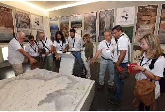 Evaluadores internacionales recorren el Geoparque UNESCO, Villuercas Ibores Jara, que se somete a examen para su revalidación