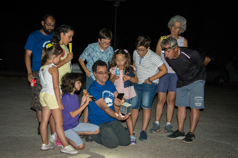 Un centenar de personas se reúnen en La Cocosa para celebrar el 50 Aniversario de la llegada del hombre a la Luna