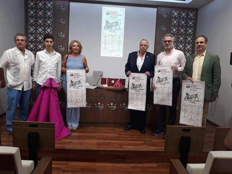 Cinco localidades de la provincia de Badajoz acogerán novilladas en clase práctica de la Diputación