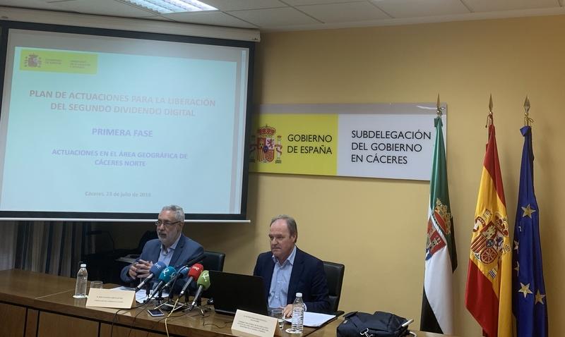 El cambio de frecuencias de la TDT arranca mañana en la provincia de Cáceres