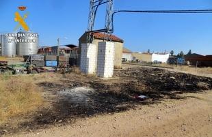 Investigan a un vecino de Lobón por provocar dos incendios