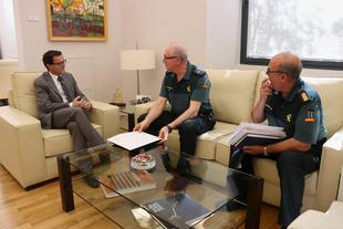 Acuerdo de aportaciones para la realización de obras de conservación y reparación en los acuartelamientos