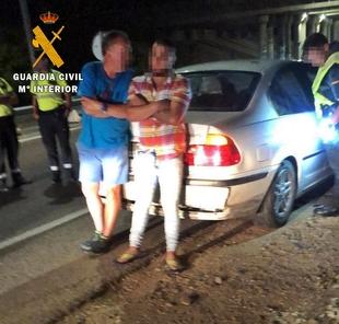Detenidas cuatro personas por el robo con violencia mediante el método del tirón en Talavera la Real
