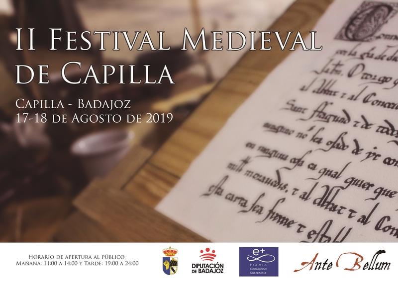 Capilla celebra su II Festival Medieval volcado en la promoción de su patrimonio monumental e histórico