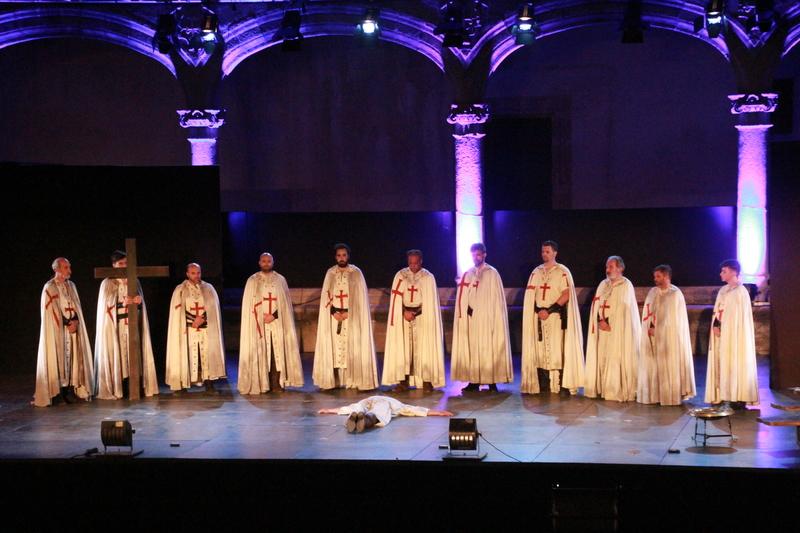 Gran acogida de la obra 'El último templario de Xerez' en Alcántara