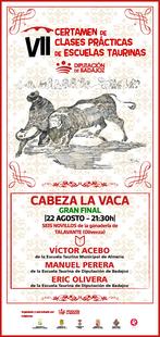 Manuel Perera, Víctor Acebo y Eric Olivera se disputan la gran final del VII Certamen de Tauromaquia de la Diputación