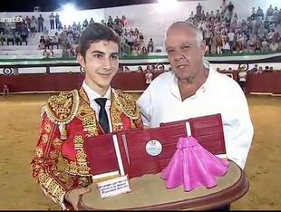 Manuel Perera triunfa en la final del VII Certamen de Clases Prácticas de Escuelas Taurinas del Patronato de Tauromaquia