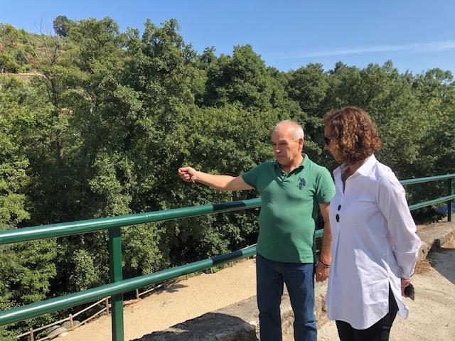 La consejera Olga García trasladará las demandas de los municipios afectados por las tormentas a la Confederación Hidrográfica del Tajo