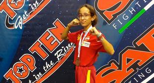 Bronce para Rocío Lozano en el Campeonato de Europa de Wako Kickboxing