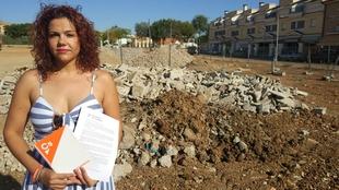 Cs Villanueva de la Serena solicita la eliminación de una escombrera para ''evitar'' problemas de salubridad y seguridad