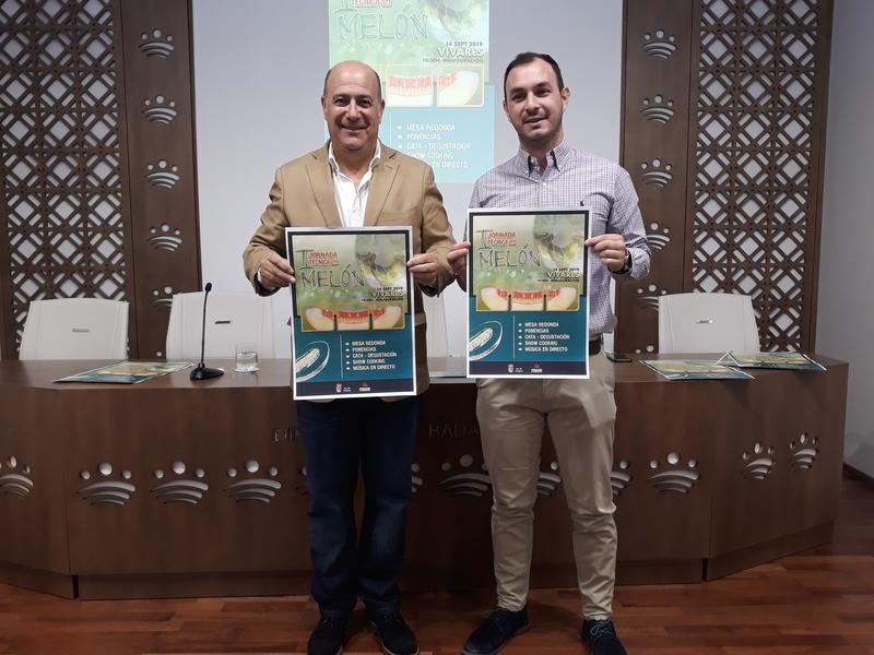 La I Jornada Técnica del Melón se celebra en Vivares el día 14