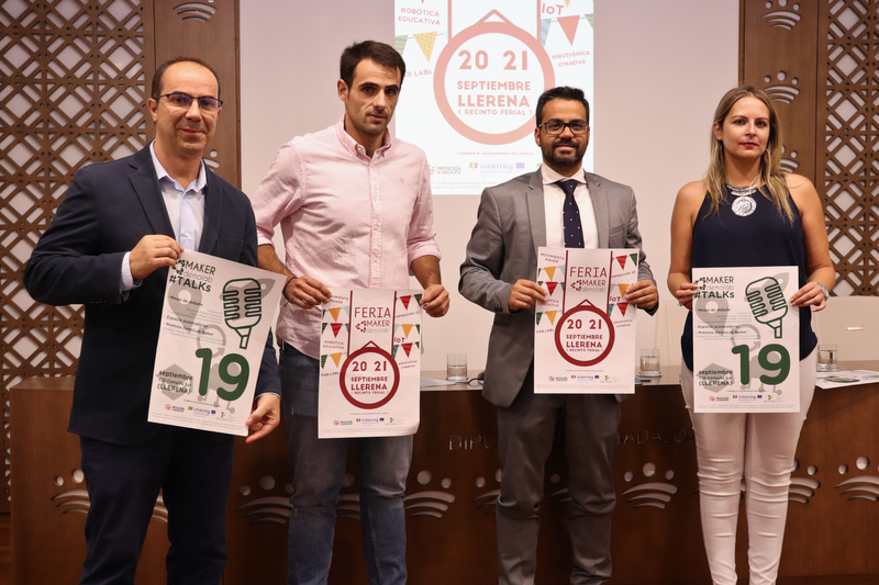 Llerena acogerá 'Demolabs makers, piensa en global, fabrica en local'