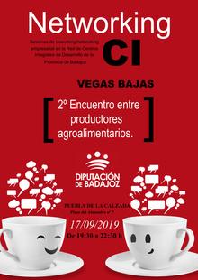 l CID Vegas Bajas acogerá el 17 de septiembre el II Encuentro entre Productores Agroalimentarios