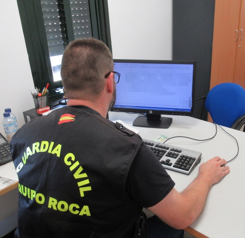 La Guardia Civil investigó a un ganadero de Alconchel, quien supuestamente simuló la sustracción de 17 becerros