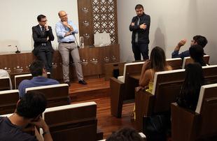 Un total de 16 jóvenes disfrutarán de una estancia profesional en el corazón de Europa becados por la Diputación