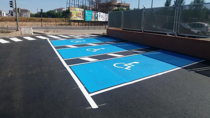 La Diputación dota con más de 80 plazas de aparcamiento al centro de salud de Montijo-Puebla de la Calzada