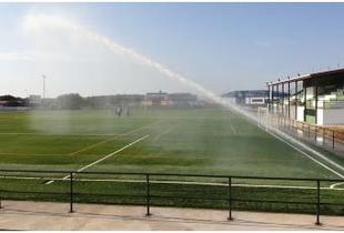 Acometidas las obras en instalaciones deportivas de Logrosán