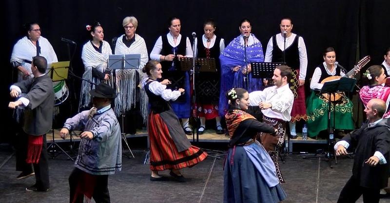 Presencia portuguesa en el Festival de Folklore Cardinche de Cabeza del Buey