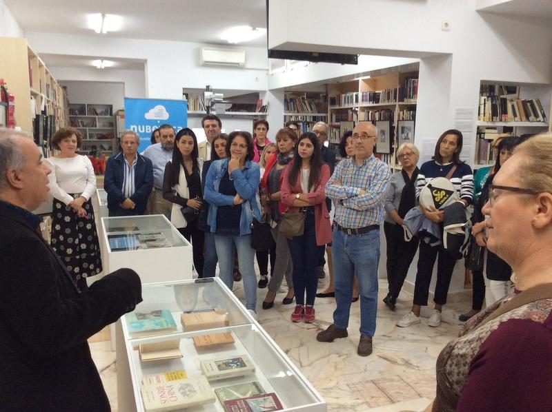 Castuera acoge la exposición 'Escrito por Mujeres', que abre el Plan de Fomento de la Lectura