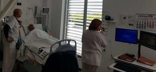 La UCI del hospital de Don Benito-Villanueva de la Serena incorpora la Telemedicina