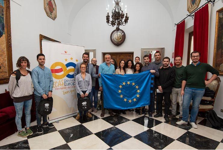 Quince jóvenes viajarán a Bruselas con las primeras becas del programa Diputación Europa