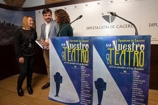 El teatro profesional llega a 19 localidad dentro del ciclo de la Diputación 'Nuestro teatro'