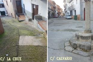 En marcha las obras del Plan Activa para la reparación de la calle La Cruz de Guadalupe
