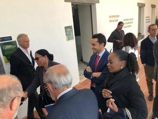 Inauguradas las I Jornadas de Intercambio Empresarial 'Olivenza mira al futuro'