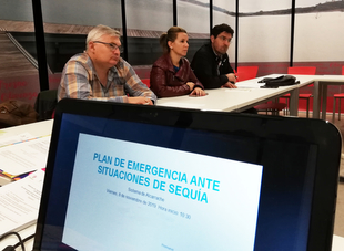 Promedio contará en primavera con un plan frente a la sequía para el sistema de abastecimiento de Río Alcarrache