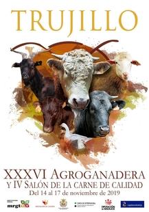 La Diputación de Badajoz participará en la XXXVI Feria Agroganadera de Trujillo, que se celebrará del 14 al 17 de noviembre