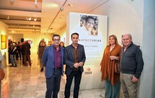 La Diputación de Badajoz acoge una exposición con la última obra de Juan García Sánchez