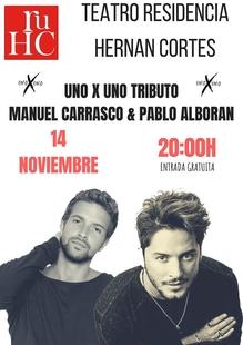 Jueves Musicales en la R.U. Hernán Cortés programa un tributo a Manuel Carrasco y Pablo Alborán