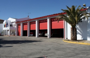 El parque de bomberos de Llerena estará finalizado en 2020