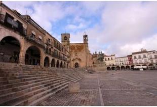 Técnicos de Diputación dan el visto bueno al replanteo del contrato de pavimentación y redes en Trujillo