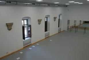 Finalizan las obras del Conservatorio Elemental de Danza en el Complejo San Francisco