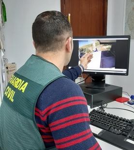 La Guardia Civil detiene a cinco personas  por la comisión de 40 delitos de robos en casas de campo y naves agrícolas de La Serena