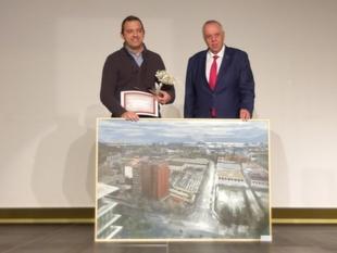 Ramón Ropero, asiste en Badalona a la entrega de premios del Certamen Internacional de Pintura Zurbarán