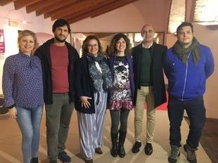 Zafra acogió ayer la presentación del libro ''Basta, voces extremeñas contra la violencia  de género''