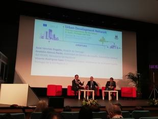La Diputación de Badajoz participa en el Seminario de Desarrollo Urbano organizado por la Comisión Europea en Santiago de Compostela