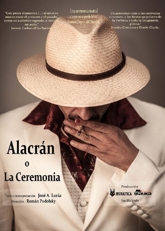 Teatro en la R.U Hernán Cortés con ''Alacrán o la ceremonia'' de José A. Lucía