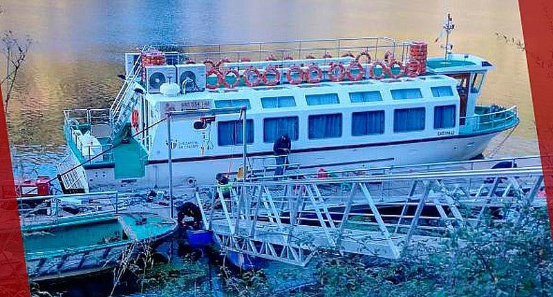 Se reanuda la navegación fluvial desde el embarcadero de Cedillo