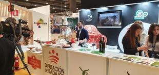 La Diputación promociona las denominaciones de origen de la provincia en la XVIII edición de la feria gastronómica Madrid Fusión