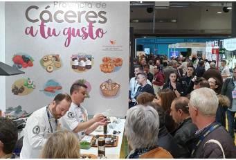 Productos D.O.P e I.G.P., protagonistas en el stand de Diputación en Madrid Fusión 2020